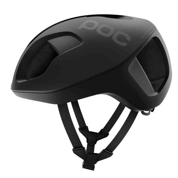 POC Ventral Spin bicicleta ciclismo casco uranio Negro Tamaño Mediano