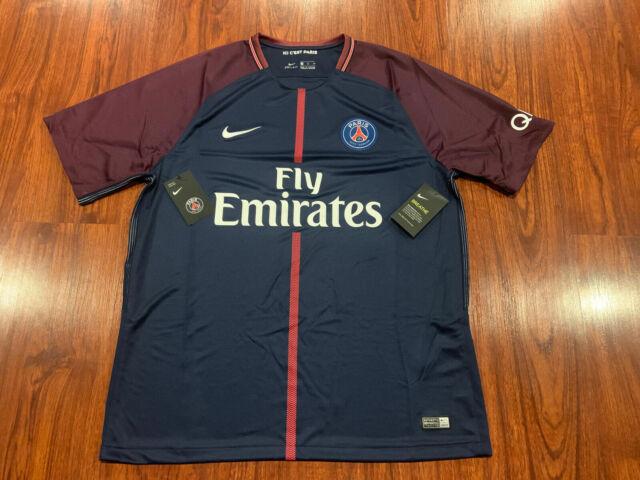 Anémona de mar saber Bocadillo  Nike 17-18 Paris Saint Germain Away Jersey 847268720 PSG Uniform Stadium  Shirt for sale online   eBay