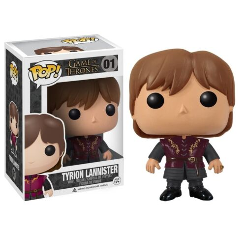 Game of thrones figure tyrion lannister pop dispo