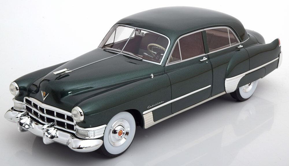 1948 Cadillac Serie 62 Touring Sedan Verde Scuro Metallico le Of 300 1/18 Nuovo