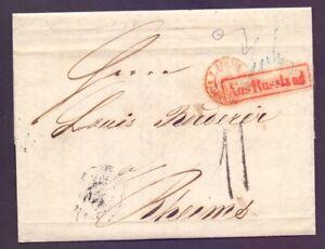 Vorphilabrief-Transitbrief-St-Petersburg-nach-Reims-1855-gute-Stempel-750