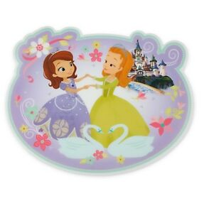 Image is loading Disney-Store-Princess-Sofia-the-First-&-Amber-  sc 1 st  eBay & Disney Store Princess Sofia the First u0026 Amber Dinnerware Placemat ...
