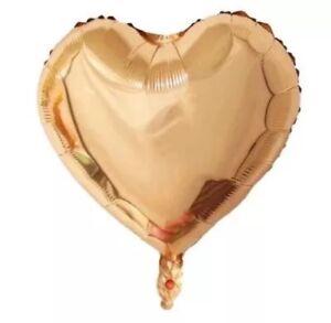3 Stück XXL Helium Folienballons Rosa Herz groß Hochzeit Valentinstag Geschenk