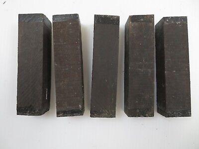 Gaboon Ebony Turning blanks 1.5 x 1.5 x 18 one piece Free Shipping