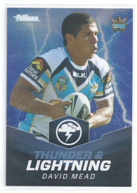 2015 NRL Traders Thunder /& Lightning TL 15 // 32 Beau SCOTT Knights