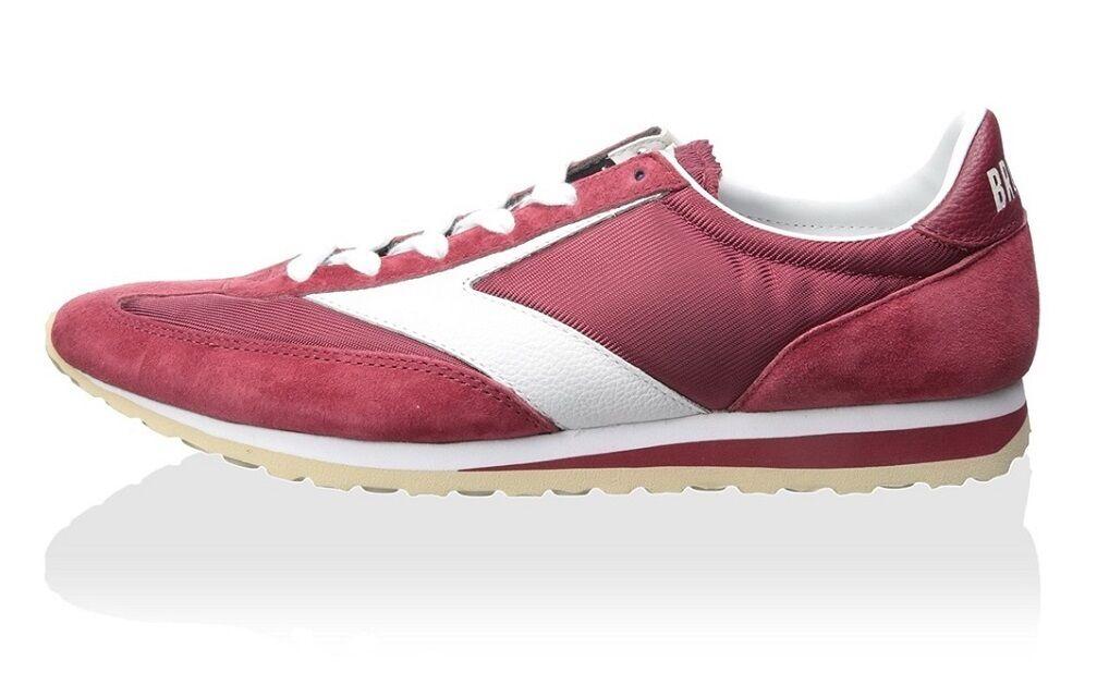 Brooks Heritage Vanguard señores zapatillas zapatillas burdeos nuevo us 10.5 D