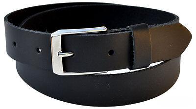 Puntuale 2,8mm Dick Xs Fino A Xxxxxxl Pelle Bovina 3cm Cintura A Partire Da 9,99 Euro Lunghezza Selezionabile 301-