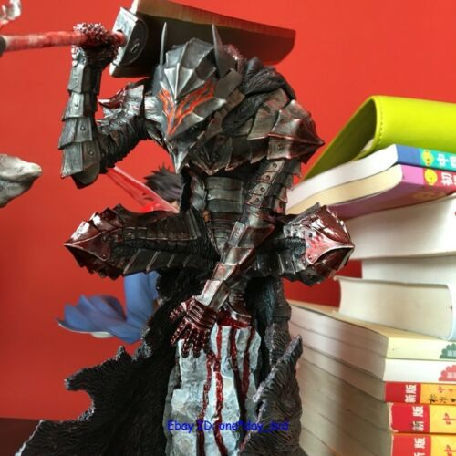 """Berserk Guts Armour ver Figure Painted statue COLLECTOR/'S EDITION 12/"""" GK Resin"""