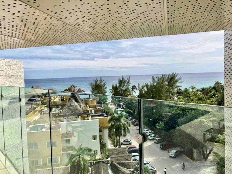 Exclusivo Departamento 2 Recamaras a unos pasos del Mar Caribe Playa del Carmen