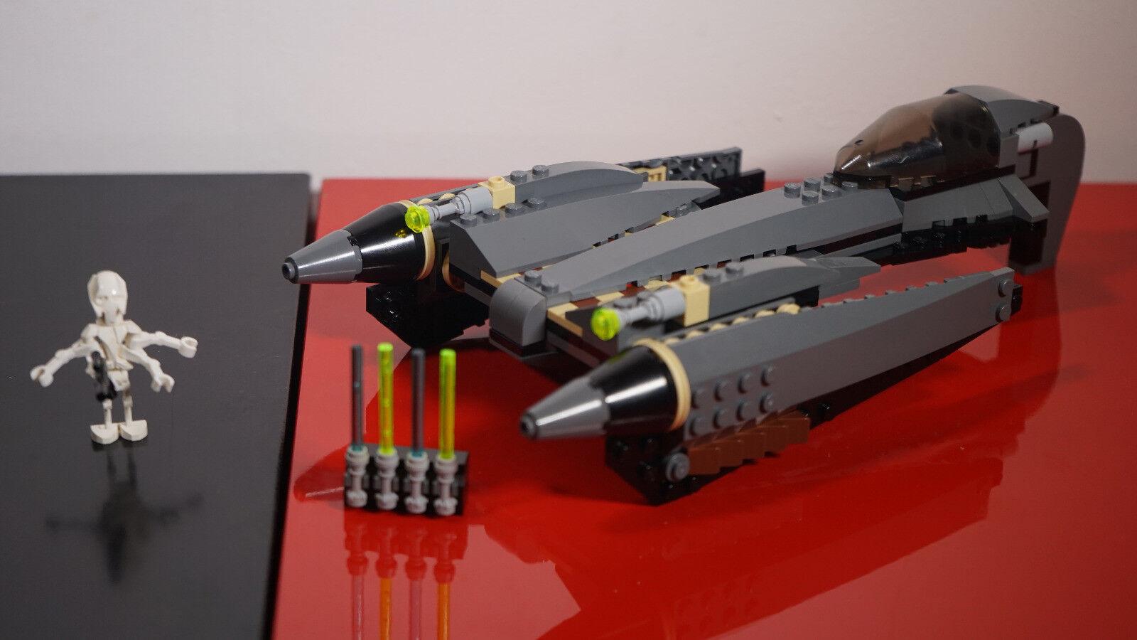 Lego Star Wars 7656 Grievous Starfighter 100% complet  notice, très bon état