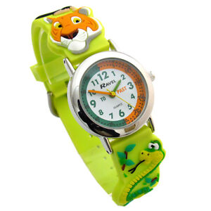 Imported From Abroad Fashion Children Boys Girl Students Unisex Football Style Silicone Strap Quartz Wrist Watch Keep You Fit All The Time Children's Watches