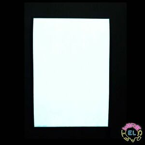 A4 EL Panel -White- Mains and Portable Driver -Thin Lightbox, Backlight or Flats