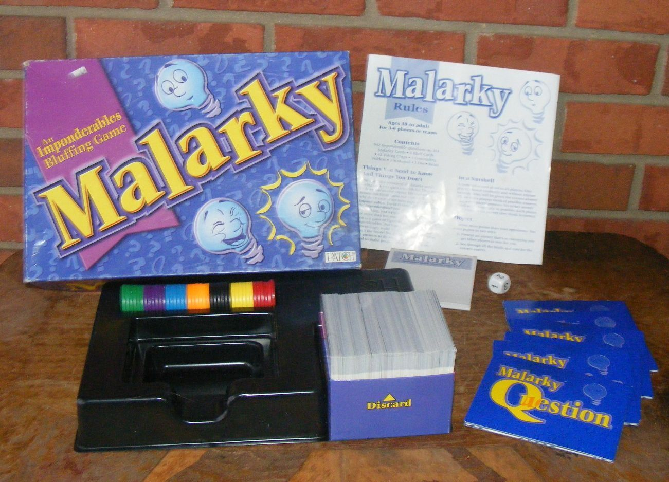 Malarky An Imponderables Bluffing Game Patch Complete