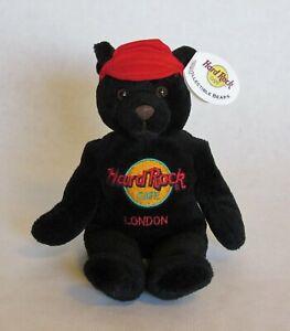 Hard Rock Cafe London Charlie Beara Bean Bag Stuffed Bear