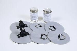 Bimini-Top-Mounting-Kit-amp-Hardware-for-Inflatable-Boats-PVC-Vinyl-amp-Hypalon-Hull