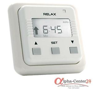 Simu Relax Shutter Timer Roll-Up Blinds Motor Engine Control White