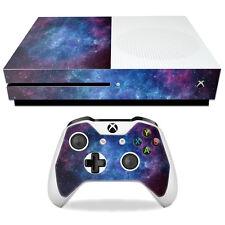 Skin Decal Wrap for Microsoft Xbox One S Nebula