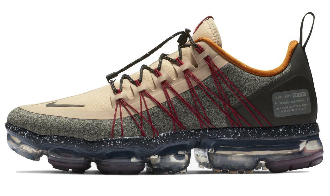 Nike Men's Air Vapormax Run Utility shoes AQ8810-200 Desert Ore - NIB