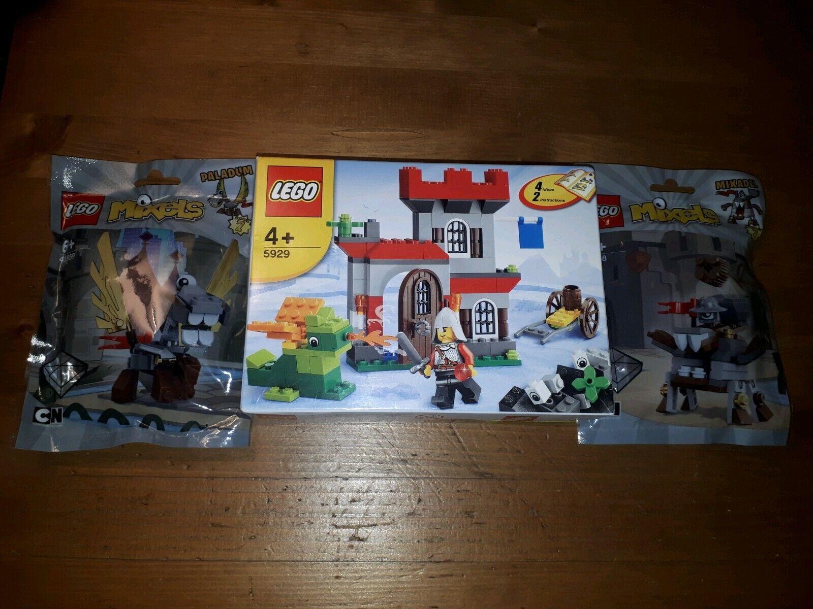 2 x LEGO MIXELS SERIES 7 -  MIXADEL and PALADUM + SET ALL NEW