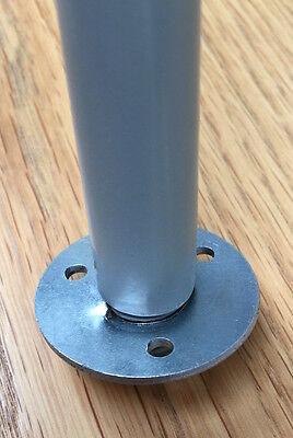 Westfalia Steel Floor Washer for T2 Splits Bay side folding table leg C9559