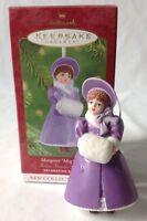 2001 Hallmark Ornament Madame Alexander Little Women Meg March 1st in Series