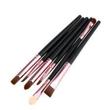 6PCS/Set Makeup Brush Lip Cosmetic Makeup Brush Eyeshadow Blush Brush G1