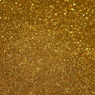 25g Big Metal Flakes Royal Gold Kfz Auto Effekt Lack 0,2mm PüNktliches Timing
