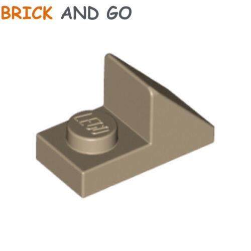 Roof Brick 1x2 Slope Cutout NEUF NEW 8 x LEGO 15672 Brique Pente dark tan