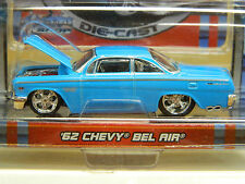 MAISTO PRO RODZ `62 CHEVY BEL AIR Lt. Blue # 15478 -2006 Mint on Mint Card NICE*
