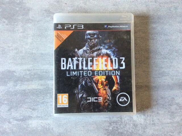 PS3 Battlefield 3 Limited Edition PLAYSTATION 3 SONY PAL FR EN BOITE
