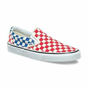 Blue American Flag Womens Casual Shoes