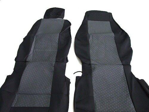 Lux camions sitzbezüge housses de protection nouveau gris-noir pour scania G p r