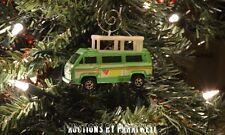 Volkswagen Sunagon T2 Bus Van Custom 1/64th Christmas Ornament VW Camper Kombi