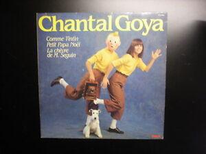 Disque-Chantal-Goya-Tintin-Pieds-Nickeles-GRAND-FORMAT-33T-RCA-Tim-Kuifje-Herge