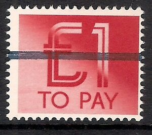 GB 1982 sg D99 1 Postage Due School Training Stamp 1 Bar MNH - Yorkshire, United Kingdom - GB 1982 sg D99 1 Postage Due School Training Stamp 1 Bar MNH - Yorkshire, United Kingdom