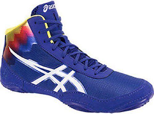 Asics JB Elite V2.0 Flame Mens Wrestling shoes  True bluee-White- Pick SZ color.