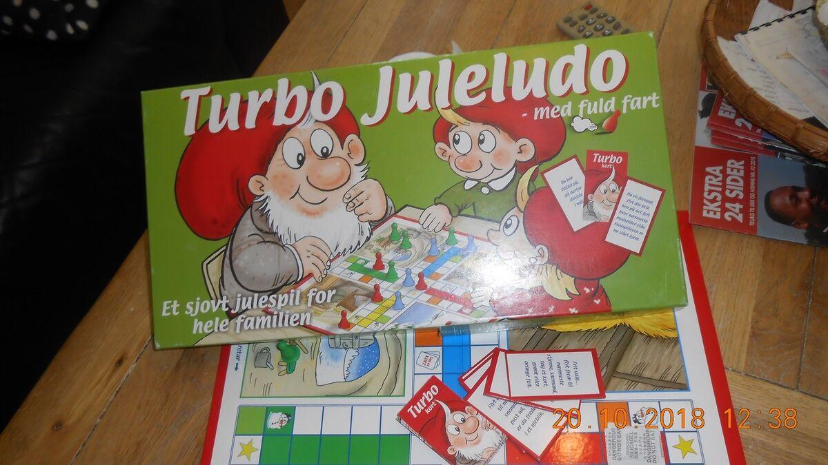 87afad1371f Turbo Juleludo, Et sjovt julespil – dba.dk – Køb og Salg af Nyt og Brugt