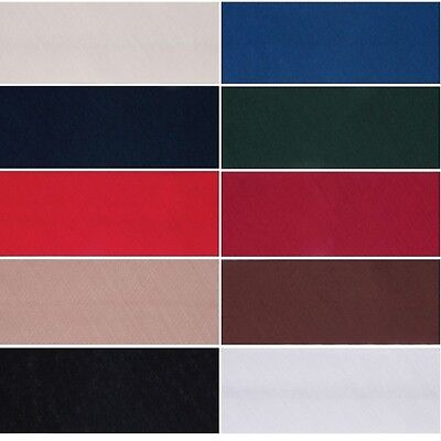 Black - Per Metre Essential Trimmings Polycotton Bias Binding 50mm