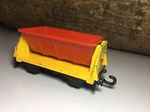 Matchbox-Eisenbahn-Waggon-Lesney-Flat-Car-Anhaenger-Rail-Train-Railway-Kipper