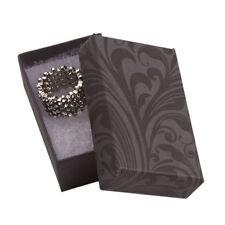 Jewelry Boxes 50 Black Amp Gray Elegant Print Cotton Filled 2 X 1 X 78