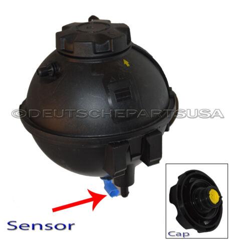 Cap Lvl Sensor SET BMW 17138616418 Coolant Reservoir Overflow Expansion Tank