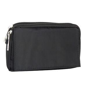 22e2773cd25c Universal Stoff Etui quer für Sony xperia Z2 schwarz XL Tasche Case ...