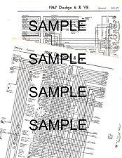 item 1 1967 pontiac firebird 6 cylinder & v8 67 wiring diagram guide chart -1967  pontiac firebird 6 cylinder & v8 67 wiring diagram guide chart