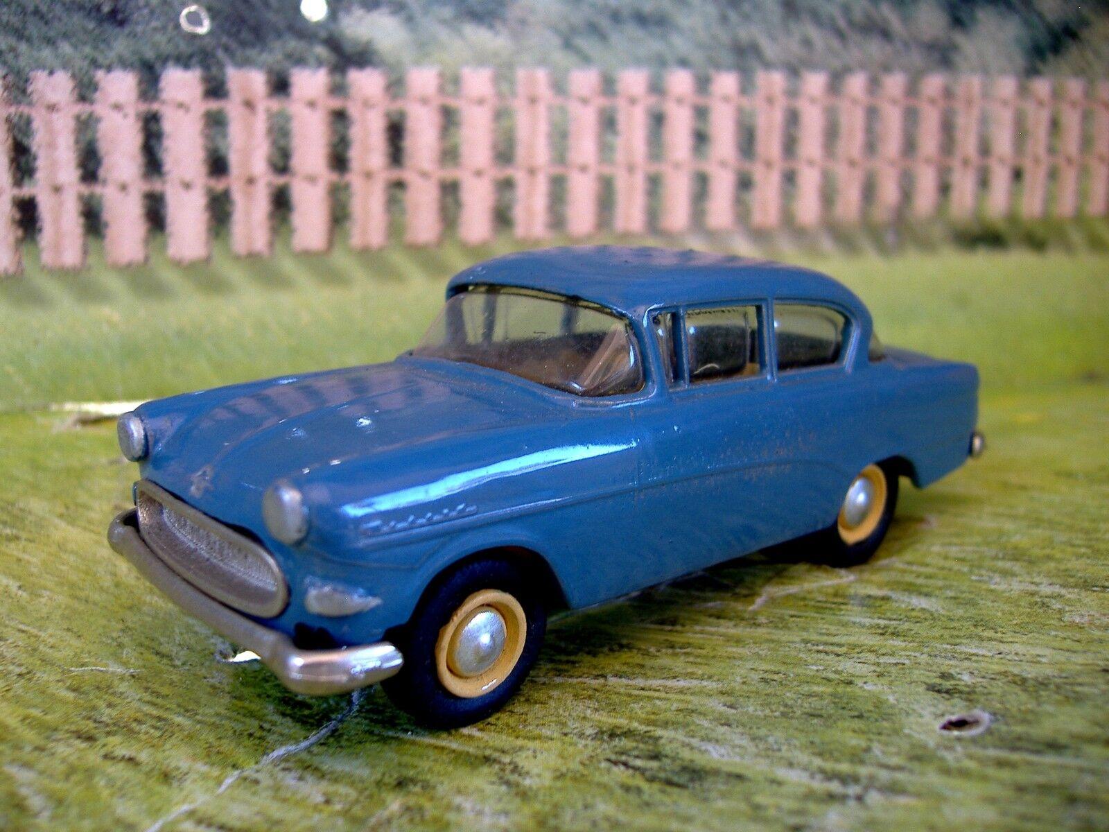 1 43 Walldorf  (Germany) Opel rekord 1958  White Metal