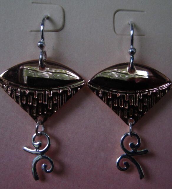 Jody Coyote Earrings Jc0689 Hypoallergenic Silver