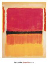 ABSTRACT ART PRINT White Cloud over Purple Mark Rothko 22.5x21.75