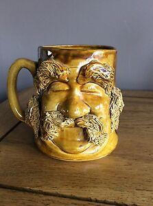 Pete-039-s-People-Pottery-Mug-Old-Man-Face