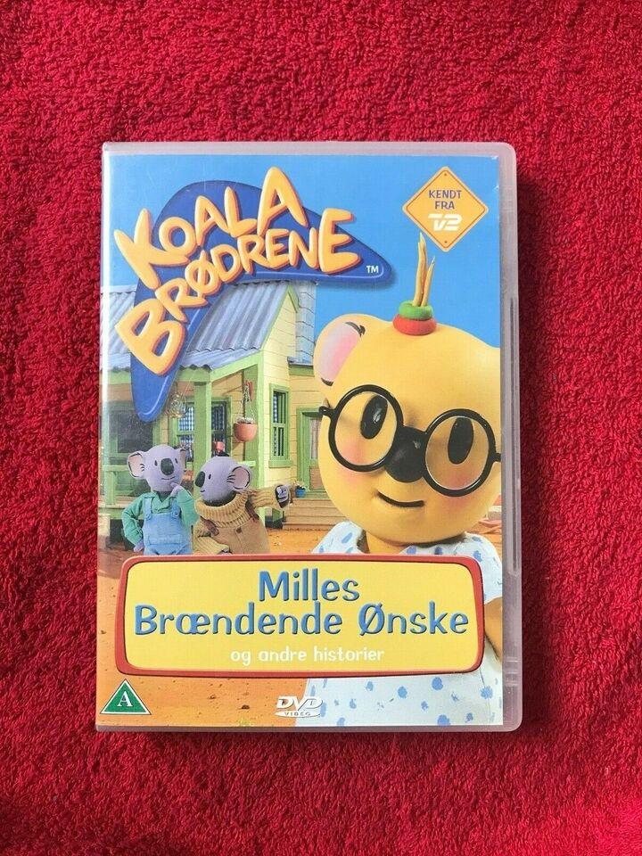 Koala Brødrene , DVD, animation