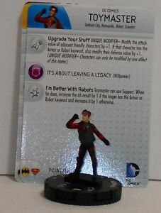 Heroclix Worlds Finest # 036 Toy Master