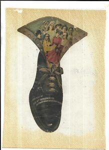 1901 - KULTURE SHOES - THE WM. HENGERER CO. BUFFALO and PAN-AMERICAN EXPOSITION